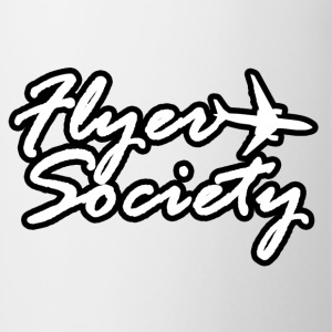Flyer Society Black'N'White Hoodies & Sweatshirts - Mug