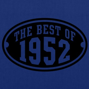 THE BEST OF 1952 - Birthday Geburtstag T-Shirt HN - Tas van stof