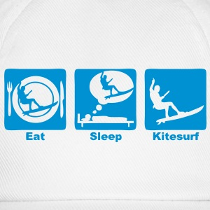 kitesurf eat sleep play  Sweat-shirts - Casquette classique