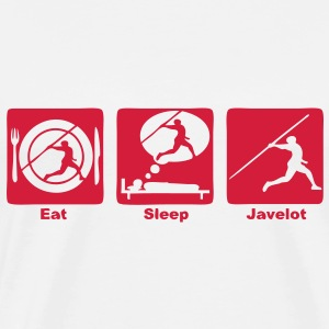 lancer javelot eat sleep play  Sweat-shirts - T-shirt Premium Homme