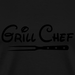 BBQ Grill Chef Grill Grill Sports Club - Herre premium T-shirt