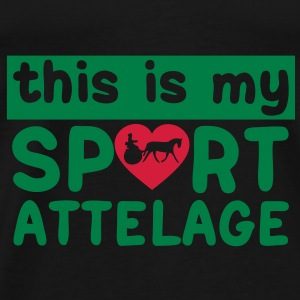this is my sport attelage tradition 8 Sacs - T-shirt Premium Homme