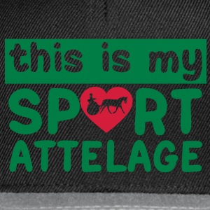 this is my sport attelage tradition 8 Sacs - Casquette snapback