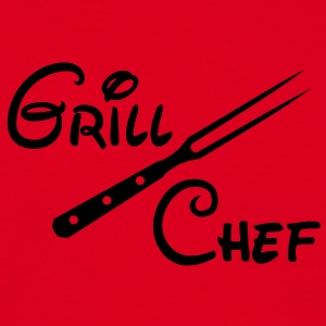 Barbecue Grill Chef Barbecue Grill Sports Club - Maglietta da uomo