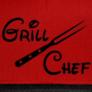 BBQ Grill Chef Grill Grill Sports Club - Snapback Cap