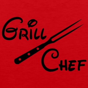BBQ Grill Chef Barbecue Grill Sports Club - Men's Premium Tank Top