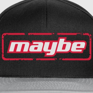Maybe! - Snapback Cap