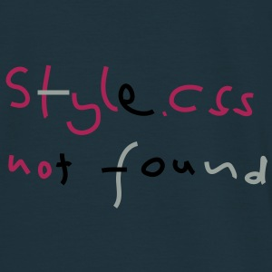 css style not found Pullover - Männer T-Shirt