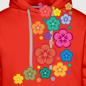 New Age Flower Power Kinder T-Shirts - Männer Premium Hoodie