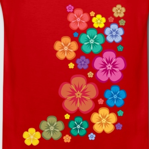 New Age Flower Power Kinder T-Shirts - Männer Premium Tank Top