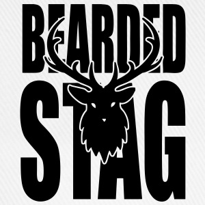 The BEARDED Stag! Long sleeve shirts - Baseball Cap