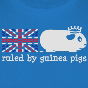 'Ruled by Guinea Pigs' Apron - Men's T-Shirt