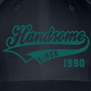 Handsome SINCE 1990 - Birthday T-Shirt WN - Flexfit Baseball Cap