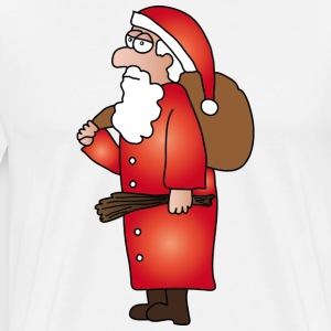 Santa Claus Buttons - Men's Premium T-Shirt