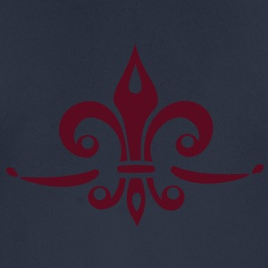 Fleur de Lis - Lily Flower, Trinity Symbol - Charity, Hope and Faith, c, 1 Sweaters - mannen T-shirt ademend