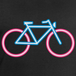 A bicycle made ​​of neon tubes T-Shirts - Men's Sweatshirt by Stanley & Stella