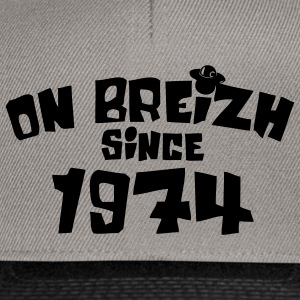 on breizh since 1974 Sweat-shirts - Casquette snapback