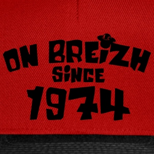 on breizh since 1974 Tee shirts - Casquette snapback