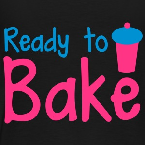 ready to bake with a tall cupcake! Hoodies - Men's Premium T-Shirt