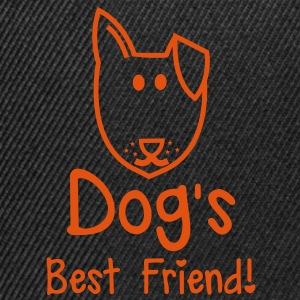 dog's  best friend! Super cute puppy design Hoodies - Snapback Cap