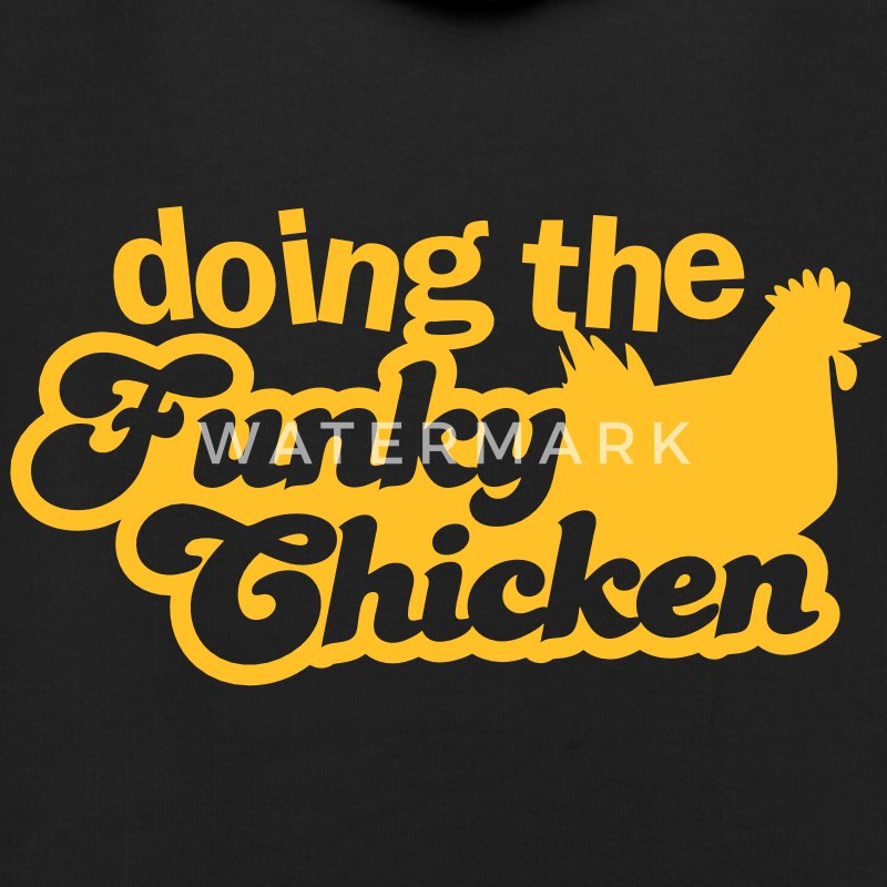doing the FUNKY CHICKEN! Hoodies - Kids' Premium Hoodie