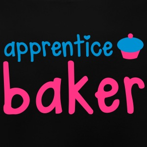 apprentice baker with a really cute little cupcake Hoodies - Baby T-Shirt