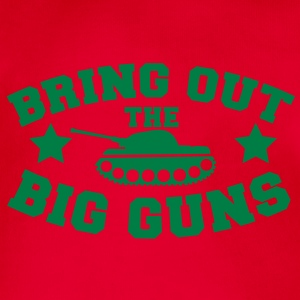 bring out the big guns artillery army tank Hoodies - Organic Short-sleeved Baby Bodysuit