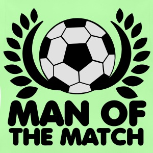 man of the match BEST PLAYER football with wreath Hoodies - Baby T-Shirt