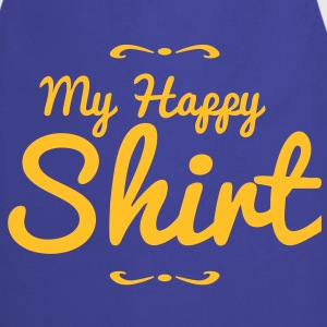 my happy shirt in funky retro look Hoodies - Cooking Apron