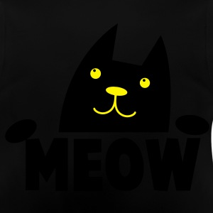 MEOW CAT with cutie little paws looking up asking Hoodies - Baby T-Shirt