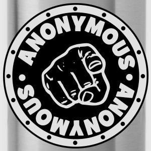 ## ANONYMOUS ## T-Shirts - Trinkflasche