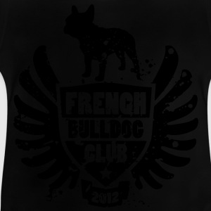 French Bulldog Club 2012 Barneskjorter - Baby-T-skjorte