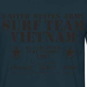 Navy US Army Surf Team Jacken - Männer T-Shirt