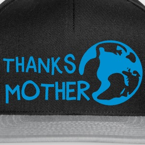 Thanks Mother, c, T-Shirts - Snapback Cap