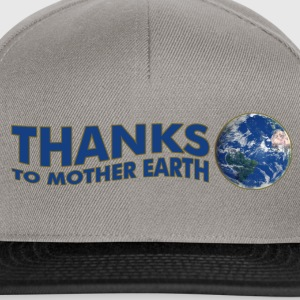 Thanks to Mother Earth!, digital Sweat-shirts - Casquette snapback