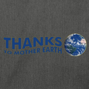 Thanks to Mother Earth!, digital Sweatshirts - Skuldertaske af recycling-material