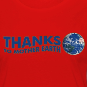 Thanks to Mother Earth!, digital T-Shirts - Women's Premium Longsleeve Shirt