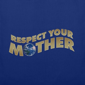 RESPECT YOUR MOTHER!, digital, Pullover - Stoffbeutel
