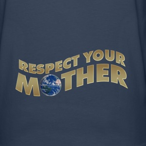 RESPECT YOUR MOTHER!, digital, Pullover - Männer Premium Langarmshirt