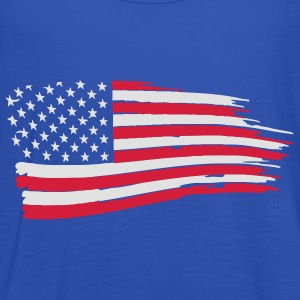usa_flag_on_blue T-Shirts - Women's Tank Top by Bella