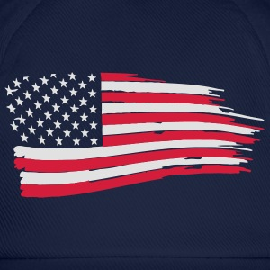 usa_flag_on_blue Hoodies & Sweatshirts - Baseball Cap