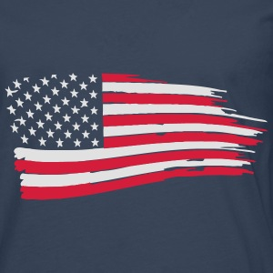 usa_flag_on_blue Hoodies & Sweatshirts - Men's Premium Longsleeve Shirt