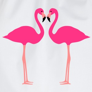 Fflamingo, flamingo's, watervogel - Gymtas