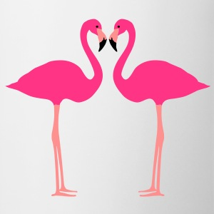 Fflamingo, flamingo's, watervogel - Mok