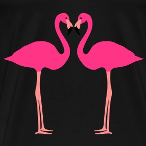 flamants roses - T-shirt Premium Homme