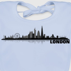 london01 Barn-T-shirts - Ekologisk babyhaklapp