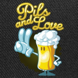 Pils and love toon - Casquette snapback