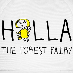 holla_the_forest_fairy_052012a_2c T-Shirts - Baseballkappe