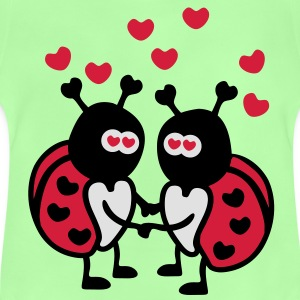 Ladybug in Love Bags  - Baby T-Shirt
