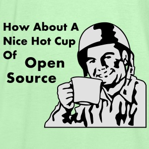 How About A Nice Hot Cup Of OPEN SOURCE Sacs - Débardeur Femme marque Bella